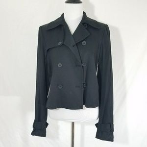 Club Monaco black double button jacket